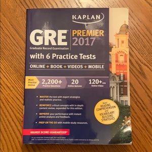 Kaplan GRE Premier 2017 with 6 Practice Tests